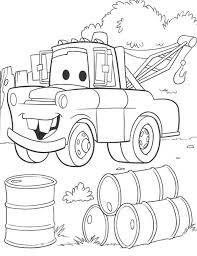 Disney Cars Colouring Book Pdf Pixar Coloring Sheets Car Pages Giant