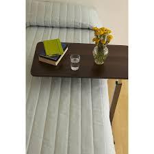 Medline Hospital Bed by Medline Overbed Table With Three Position Tilt Walnut Walmart Com