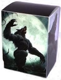 Mtg Werewolf Deck Ideas by Amazon Com Full Moon Werewolf Deck Box By Max Pro Fits Magic