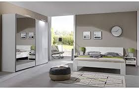 komplett schlafzimmer set hochglanz weiß 160cm bett