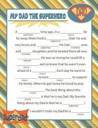 Halloween Mad Libs Free by Free Printable Fathers Day Mad Lib