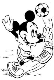 Free Printable Mickey Mouse Goofy Coloring Pages