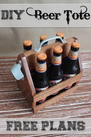 DIY Beer Tote CraftsCraft GiftsDiy CraftsWoodworking