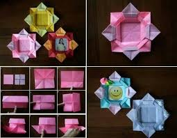 Learn How To Make Paper Flower Picture Frame