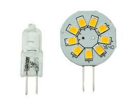rv g4 9 led side pin replacement bulb for rv puck light warm
