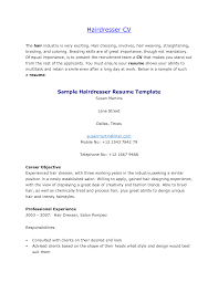 Formidable Resume For Hairstylist Assistant About Free Hair Master Stylist Template Templ