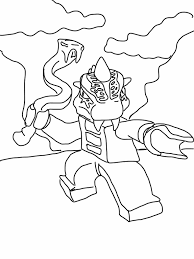 Character Cartoon Lego Chima Coloring Pages Free Printable
