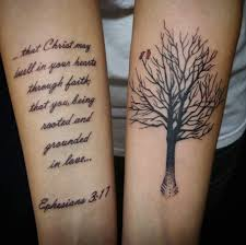 28 Uplifting Bible Verse Tattoo Designs