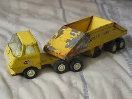 TONKA Bottom Dump Pressed Steel Truck Toy Vehicle AJS For Sale