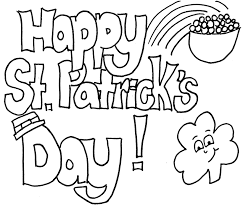 Valuable Design Ideas Coloring Pages For St Patricks Day Happy Sheets Printable