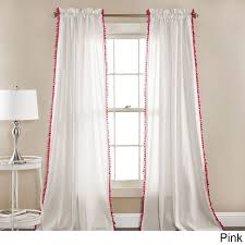 Plum And Bow Blackout Pom Pom Curtains by 31 Best Burlap Linen Curtains U2022 Madeinburlap Images On Pinterest