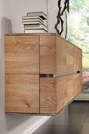 hänge lowboard 121x60x42cm acerro rustikale asteiche massiv casade mobila