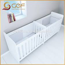 Twins Babies Wooden Crib Baby Cot Bed For Gef Bb 64