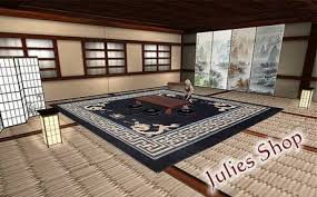 second marketplace japanisches wohnzimmer set