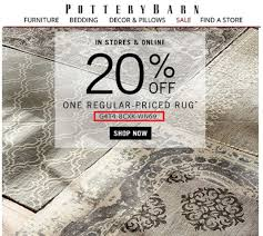 Pottery Barn Coupons Online Shopping