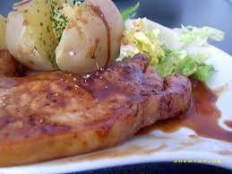 recette de côtes de porc caramélisées