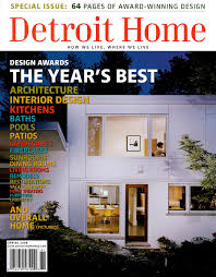 100 O At Home Magazine Featured In Detroit Design Awards Spire Integrated