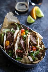 Citrus Marinated Cuban Steak Tacos Are An Easy And Delicious Meal Flank With Lime Orange Juice Fresh Oregano Cumin Garlic Make