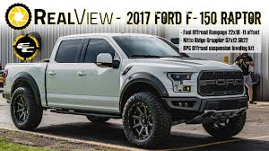 RealView - Leveled 2017 Ford F-150 Raptor W/ 22