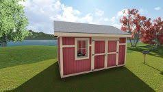 10x14 Garden Shed Plans by 12x12 Garden Shed Plan
