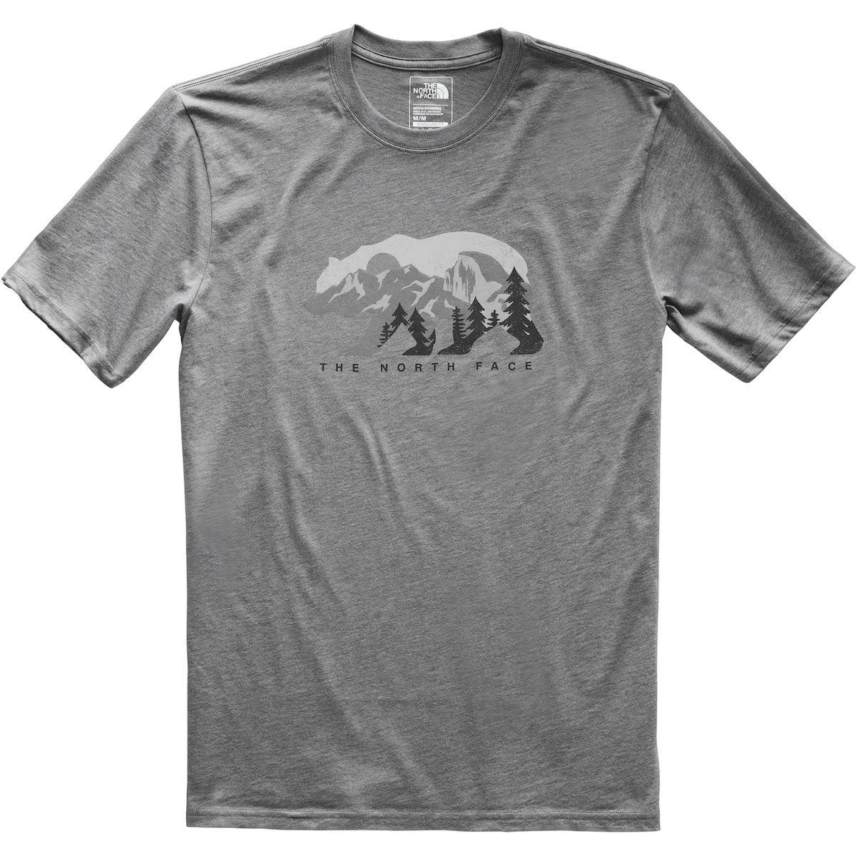 The North Face Men's Bearitage Rights T Shirt - Gray