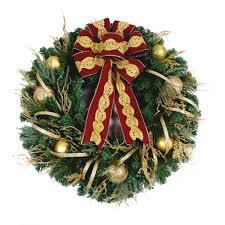 Menards Fresh Cut Christmas Trees by Christmas Wreaths Christmas Wreaths U0026 Garland The Home Depot