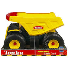 Amazon.com: Tonka Toughest Mighty Truck (Handle Color May Vary ...