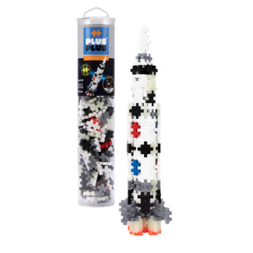 Plus Plus 240 PC Tube - Saturn V Rocket