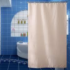 großhandel jarl haus beige sitzwanne für badezimmer gitter hotel quality polyester wasserdichten duschvorhang mit ösen waschbar gardinen