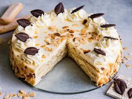 malakofftorte mit löffelbiskuits einfache torte ohne backen