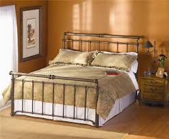 Wesley Allen King Size Headboards by Wesley Allen Iron Beds Sheffield Iron Sleigh Bed Wayside