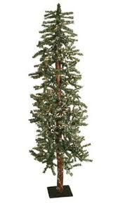 Pre Lit Flocked Spruce Artificial Christmas Tree