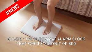 Could this be the alarm clock which will finally force you
