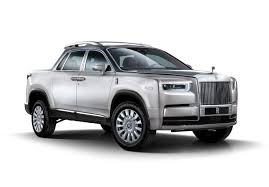 Rolls-Royce Pickup Truck Rendering Is One Utilitarian Phantom ...