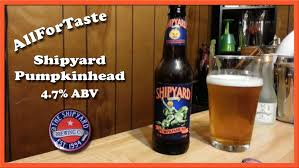 Jack O Traveler Pumpkin Shandy Abv by Shipyard Pumpkinhead Youtube