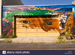 Balmy Alley Murals Mission District by Mission District Stock Photos U0026 Mission District Stock Images Alamy