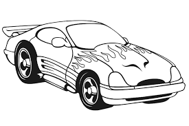 Inspiring Coloring Pages Of Cars Best KIDS Design Ideas