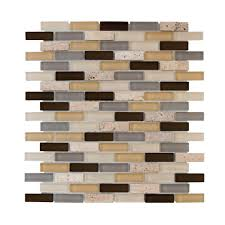 Home Depot Wall Tile Sheets by Jeffrey Court Tranquil Stone 10 75 In X 12 875 In X 9 5 Mm