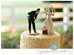 Modern Country Wedding Cake Toppers With Rustic