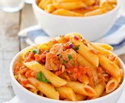 recette de pate au thon pâtes au thon et à la tomate recette de pâtes au thon et à la