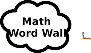 Math Word Wall Clip Art At Clker