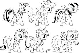Premium My Little Pony Coloring Picture V8020 Games Online E Pages Pretty Likeable