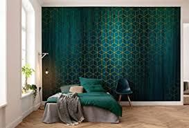 komar vlies fototapete mystique vert tapete dekoration jugendstil schlafzimmer wohnzimmer büro flur größe 400 x 280 cm breite x höhe