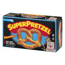 Utz Halloween Pretzels by Superpretzel Original Baked Soft Pretzels 6 Ct Box Walmart Com