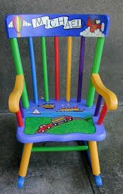 Painted Chairs Ideas | Hand Painted Child's Rocking Chair ... Rocking Nursery Chair Hand Painted In Soft Blue Childrens Chairs Babywoerlandcom 20th Century Swedish Dalarna Folk Art Scdinavian Antique Seat Replacement And Finish Teamson Kids Boys Transportation Personalized White Wood Childs Rocker Kid Sports Custom Theme Girl Boy Designs Brookerpalmtrees Wooden Beach Natural Lumber Hot Sell 2016 New Products Office Buy Ideas Emily A Hopefull Rocking Chair Rebecca Waringcrane