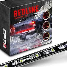 100 Light Bar Truck Redline LED Tailgate Brake With Reverse OPT7