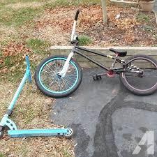 Custom BMX Bike And Pro Scooter