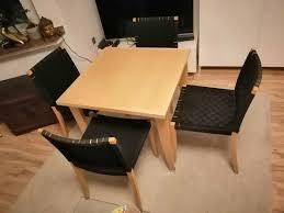 designer thonet tisch und 4 stühle esstischstühle stuhl konvolut