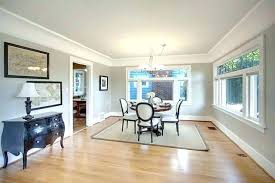 Benjamin Moore Gray Owl Undertones Pretty Mode Traditional Dining Room Remodeling Ideas With