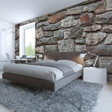 details zu fototapete vlies stein charme tapete tapeten fototapeten für schlafzimmer fdb90